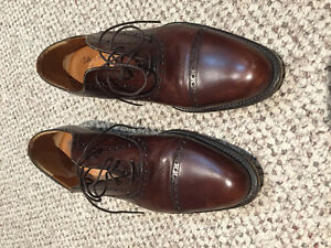 Custom made Brown Italian Leather Shoes