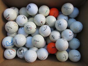 100 GREAT UGLY PRACTICE GOLF BALLS
