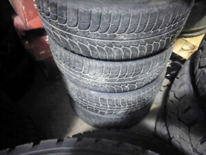 185 / 65 R 15 Michelin Winter Tires & 5x100 Steel Rims