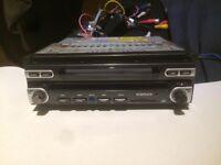 Nav sure flip out Car Stereo aux Radio cd Player Head Unit