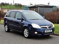 2009 Vauxhall Zafira 1.6 i 16v Design 5dr