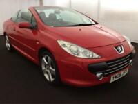 PEUGEOT 307CC SPORT 2008 CONVERTIBLE>42K MILES..LOOKS+DRIVES GREAT..TRADE PRICED