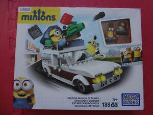 Mega Bloks Minions station Wagon getaway Évasion en voiture. (Le