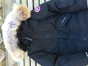 Boys authentic Canada Goose winter coat