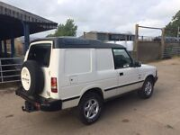 Land Rover Discovery Commercial 300tdi 4x4 van