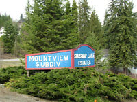 Blind Bay - Mountview Subdivision