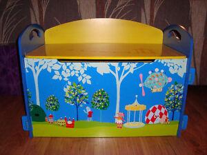Wooden Bench/Toybox St. John's Newfoundland image 1