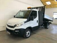 2017 Iveco Daily 35C14 SINGLE CAB TIPPER WITH TOOL BOX