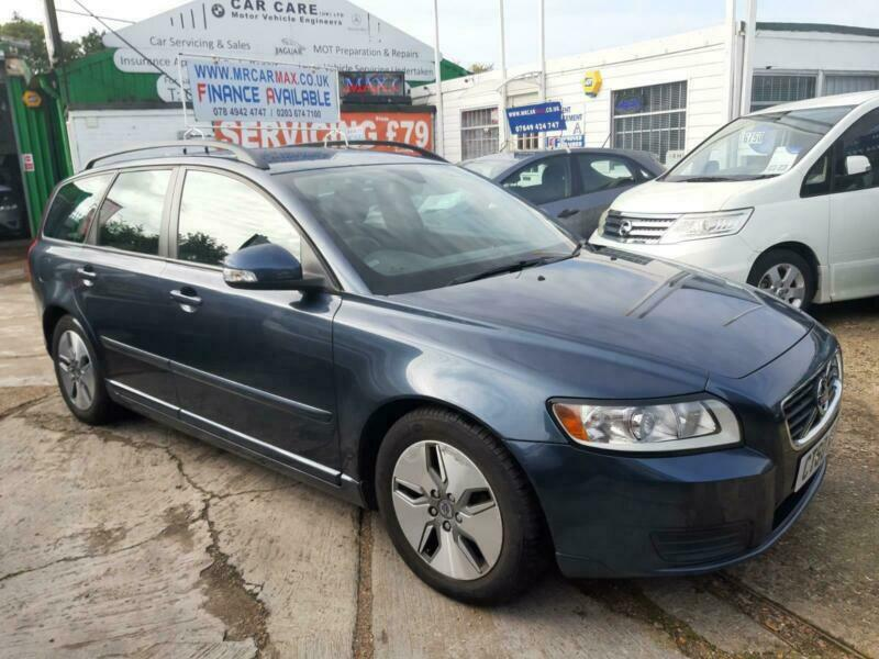 FINANCE £96 PR MONTH 2010 VOLVO V 50 S D DRIVE 1.6 DIESEL MANUAL ESTATE 1 OWNER for sale  Harrow, North West London