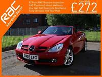 2009 Mercedes-Benz SLK SLK200 Kompressor Auto Convertible Electric Hard Top Sat