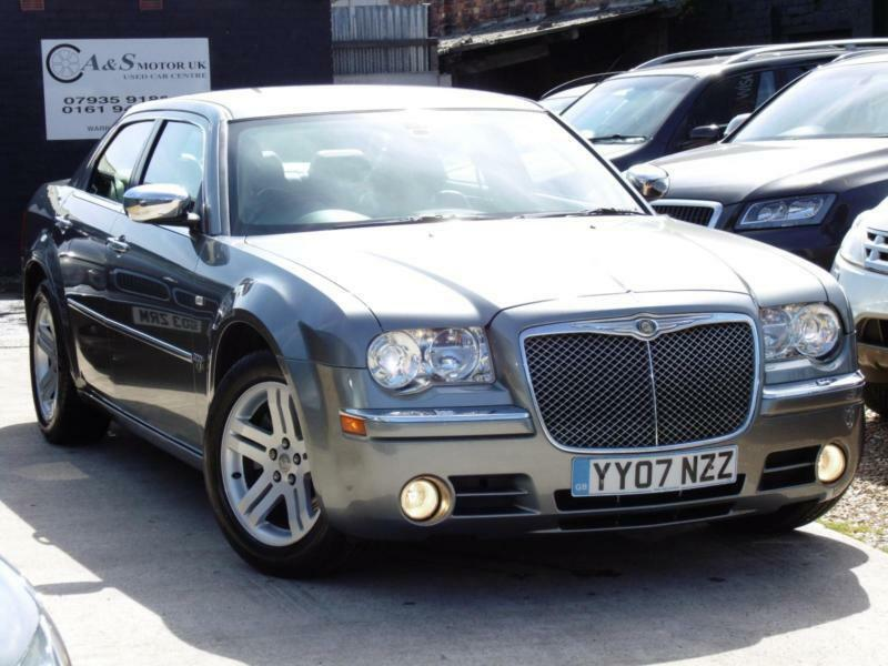 Chrysler 300c 3 0 crd v6 diesel automatic low road tax for Chrysler 300c diesel