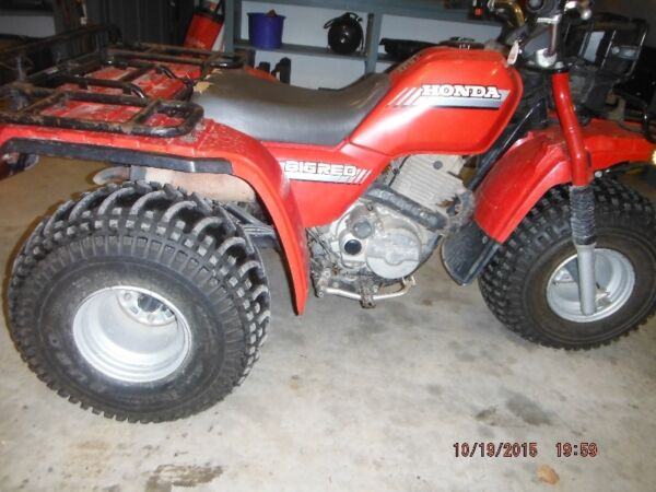 Used 1986 Honda ATC 250 ES 3 Wheeler Big Red