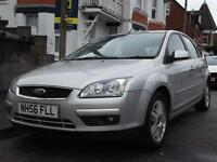 FORD FOCUS 1.8TDCi 2007/ 56 Ghia AIR CON,5 DR, ABSOLUTELY STUNNING !