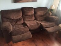 Couch with recliners built in. NOW $200