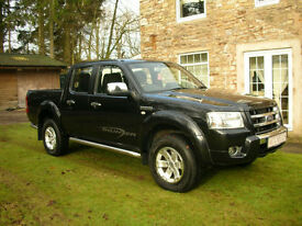 2009 FORD RANGER THUNDER DOUBLE CAB PICKUP 2.5TDCI 4X4