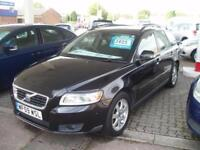 VOLVO V50 D S Black Manual Diesel, 2009