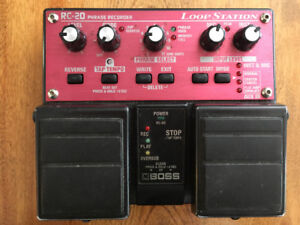 Loop station Boss rc-20