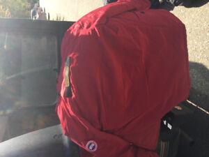 Authentic Canada Goose Parka (Red)
