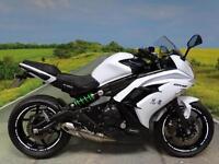 Kawasaki ER6 F ** Stunning 'ice white' low mileage example!**