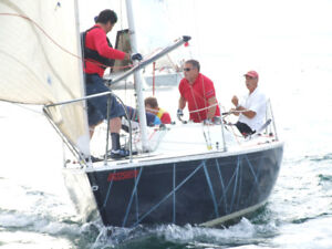 Kirby 25 racing sailboat with trailer and LS 4 stroke outboard