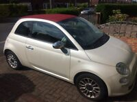 Absolutely gorgeous Fiat 500c - all extras, only 17000 miles!!