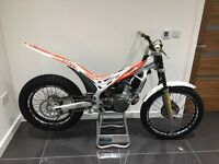 Beta Evo 290 trials bike