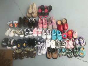 Mixed baby shoes (boy & girl) lot