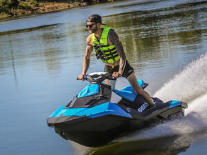 2 Sea Doo Spark 2016 3up/ iBR & Convenience package (Will trade)