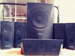 Sony Home Theater System (BDV-E3100) Speakers & Sub-Woofer 1000W