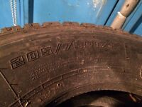 7.5 toner lorry wheels and tyres fit daf , man , iveco £250 ono