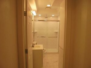 One bedroom basement suite available: