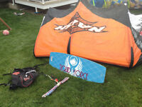 6M Naish Cult Kite - Complete with Bar & Board