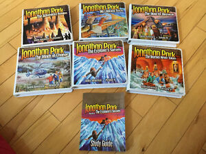 Jonathan Park Audio Adventures CD's x6 (From Answers In Genesis)