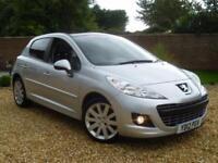 2012 12, Peugeot 207 1.6 HDi 92 FAP Allure 5 Door hatchback ++ £30 ROAD TAX