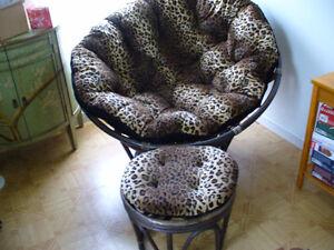 Papassan chair