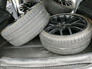 255/35/20 Falkin Tires x 4 (tires only)
