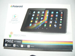 "9"" Android Tablet Quad Core with Case & Keyboard New (open box)"
