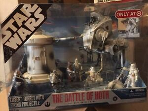Star Wars 2007 The Battle Of Hoth and The Battle For Endor.
