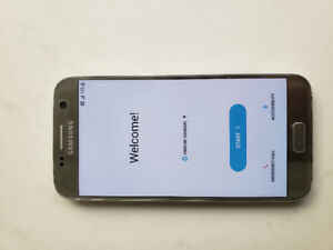 Samsung S7 phone. 16GB Mint Condition.