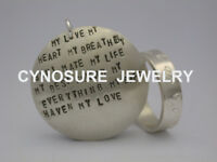 Jewelry Making - Silver Stamped Ring and Pendant Workshop