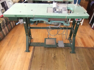 Overlock commercial industriel dans qu bec petites for Machine a coudre 4 fils