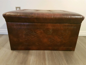 Vintage Bench/Storage Box