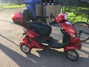 Quadriporteur en excellent état! Ressemble à un scooter !