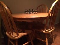 Great dining set barely used