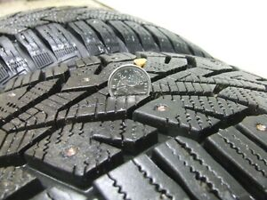 4, 205/65/R15 Studded Winter Tires Strathcona County Edmonton Area image 3
