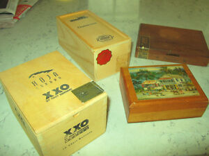 Nine Vintage Cigar Boxes Kitchener / Waterloo Kitchener Area image 7