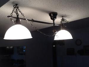 Adjustable two light fixture Strathcona County Edmonton Area image 1