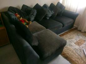 Large sofa bed L-shape