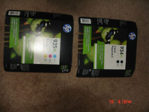 HP Ink Cartridges 934 XL and 935 XL