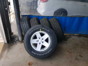 2017 Jeep Wrangler Tires